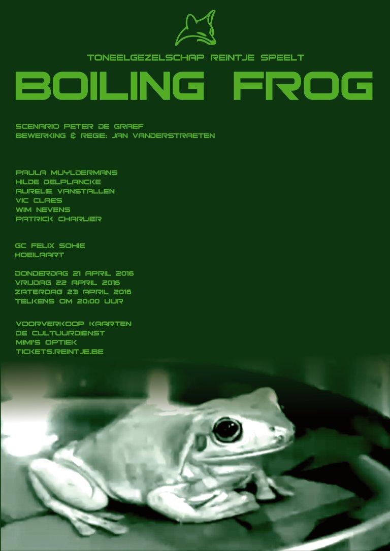 Affiche BOILING FROG 051115
